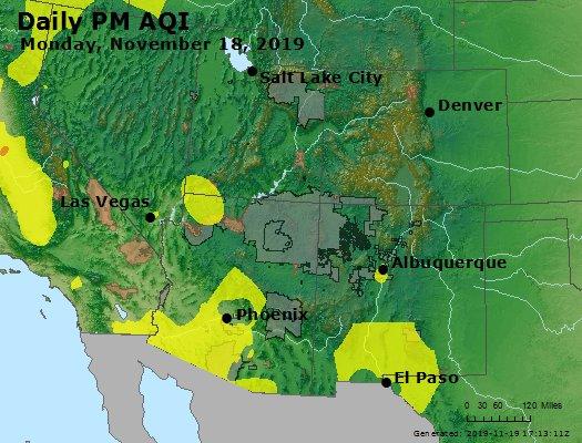 Peak Particles PM2.5 (24-hour) - https://files.airnowtech.org/airnow/2019/20191118/peak_pm25_co_ut_az_nm.jpg