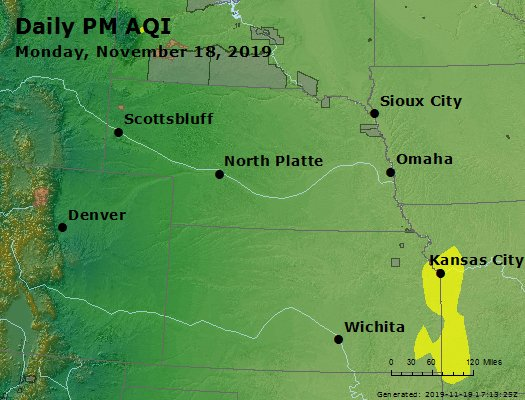 Peak Particles PM2.5 (24-hour) - https://files.airnowtech.org/airnow/2019/20191118/peak_pm25_ne_ks.jpg