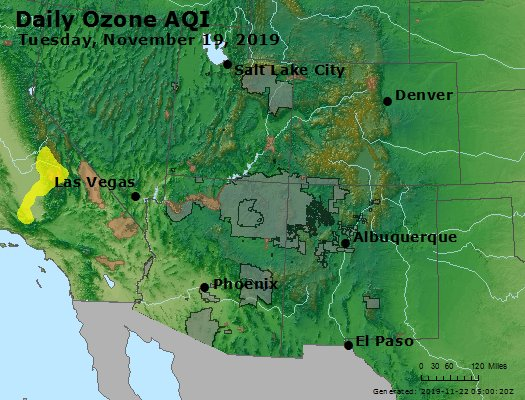 Peak Ozone (8-hour) - https://files.airnowtech.org/airnow/2019/20191119/peak_o3_co_ut_az_nm.jpg
