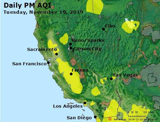 Peak Particles PM2.5 (24-hour) - https://files.airnowtech.org/airnow/2019/20191119/peak_pm25_ca_nv.jpg