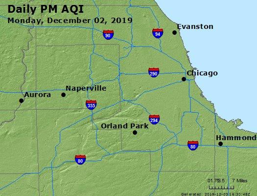 Peak Particles PM2.5 (24-hour) - https://files.airnowtech.org/airnow/2019/20191202/peak_pm25_chicago_il.jpg