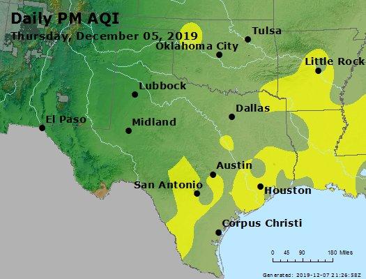 Peak Particles PM2.5 (24-hour) - https://files.airnowtech.org/airnow/2019/20191205/peak_pm25_tx_ok.jpg