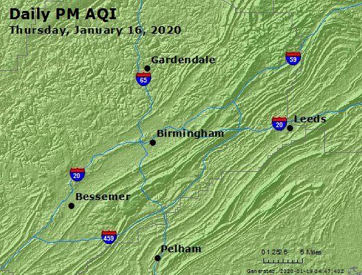 Peak Particles PM2.5 (24-hour) - https://files.airnowtech.org/airnow/2020/20200116/peak_pm25_birmingham_al.jpg