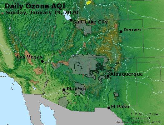 Peak Ozone (8-hour) - https://files.airnowtech.org/airnow/2020/20200119/peak_o3_co_ut_az_nm.jpg