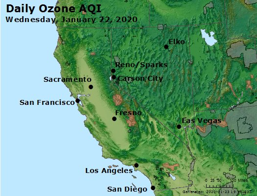 Peak Ozone (8-hour) - https://files.airnowtech.org/airnow/2020/20200122/peak_o3_ca_nv.jpg
