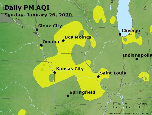 Peak Particles PM2.5 (24-hour) - https://files.airnowtech.org/airnow/2020/20200126/peak_pm25_ia_il_mo.jpg