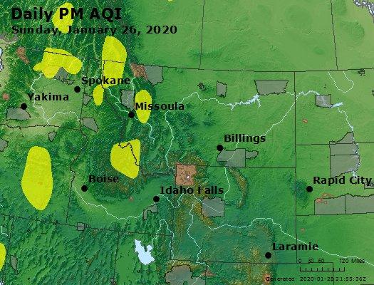 Peak Particles PM2.5 (24-hour) - https://files.airnowtech.org/airnow/2020/20200126/peak_pm25_mt_id_wy.jpg