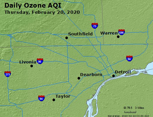 Peak Ozone (8-hour) - https://files.airnowtech.org/airnow/2020/20200220/peak_o3_detroit_mi.jpg