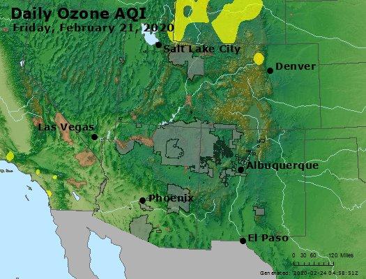 Peak Ozone (8-hour) - https://files.airnowtech.org/airnow/2020/20200221/peak_o3_co_ut_az_nm.jpg