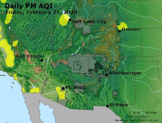 Peak Particles PM2.5 (24-hour) - https://files.airnowtech.org/airnow/2020/20200221/peak_pm25_co_ut_az_nm.jpg