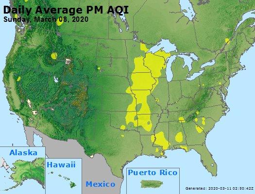 Peak Particles PM2.5 (24-hour) - https://files.airnowtech.org/airnow/2020/20200308/peak_pm25_usa.jpg