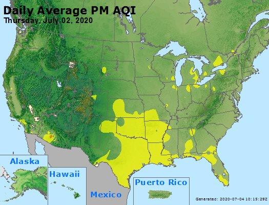 Peak Particles PM2.5 (24-hour) - https://files.airnowtech.org/airnow/2020/20200702/peak_pm25_usa.jpg