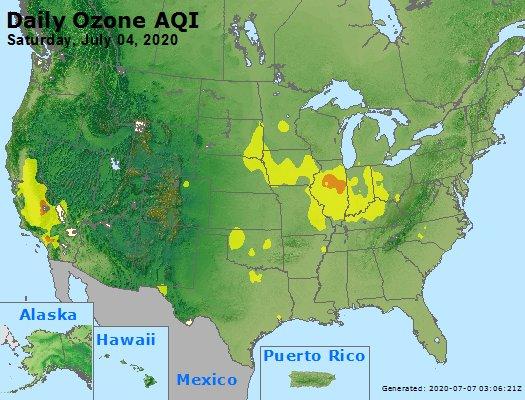 Peak Ozone (8-hour) - https://files.airnowtech.org/airnow/2020/20200704/peak_o3_usa.jpg
