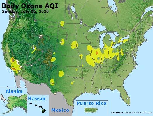 Peak Ozone (8-hour) - https://files.airnowtech.org/airnow/2020/20200705/peak_o3_usa.jpg