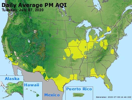 Peak Particles PM2.5 (24-hour) - https://files.airnowtech.org/airnow/2020/20200707/peak_pm25_usa.jpg