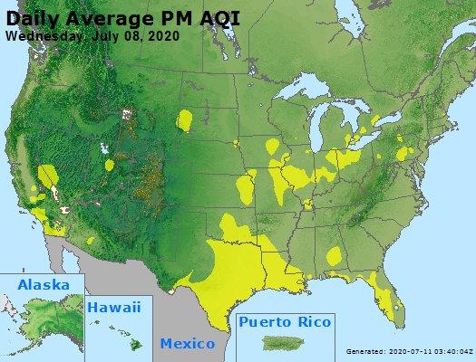 Peak Particles PM2.5 (24-hour) - https://files.airnowtech.org/airnow/2020/20200708/peak_pm25_usa.jpg