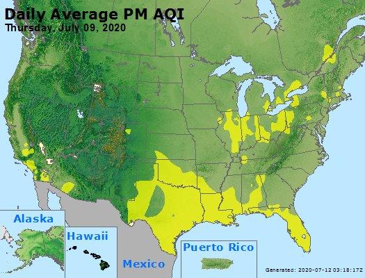 Peak Particles PM2.5 (24-hour) - https://files.airnowtech.org/airnow/2020/20200709/peak_pm25_usa.jpg