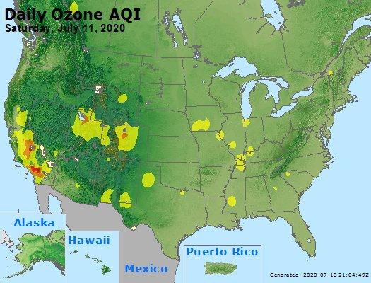 Peak Ozone (8-hour) - https://files.airnowtech.org/airnow/2020/20200711/peak_o3_usa.jpg