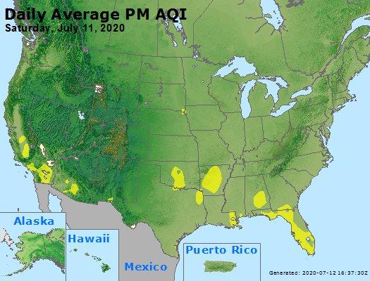 Peak Particles PM2.5 (24-hour) - https://files.airnowtech.org/airnow/2020/20200711/peak_pm25_usa.jpg