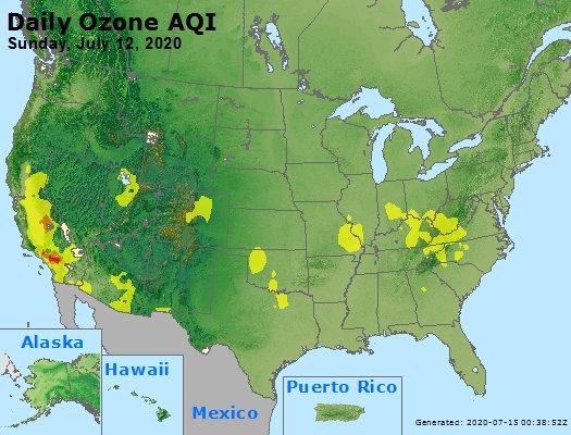 Peak Ozone (8-hour) - https://files.airnowtech.org/airnow/2020/20200712/peak_o3_usa.jpg