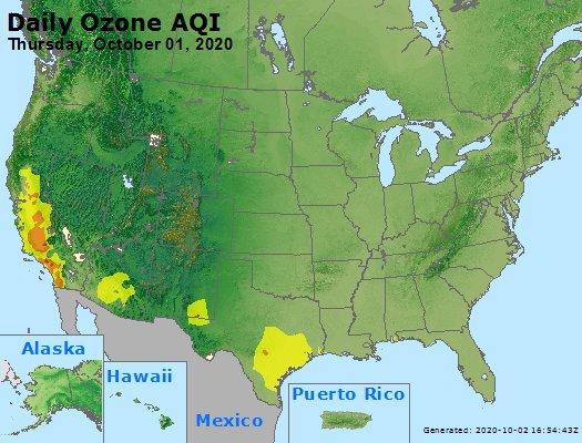 Peak Ozone (8-hour) - https://files.airnowtech.org/airnow/2020/20201001/peak_o3_usa.jpg