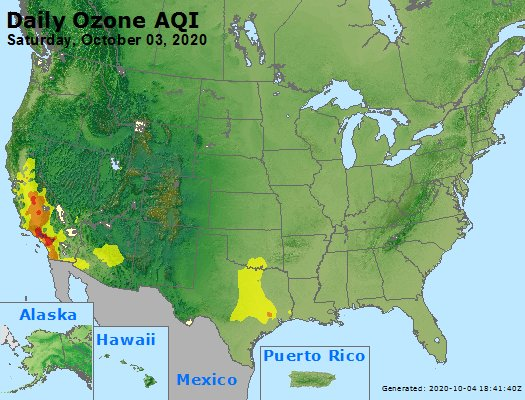 Peak Ozone (8-hour) - https://files.airnowtech.org/airnow/2020/20201003/peak_o3_usa.jpg