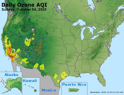 Peak Ozone (8-hour) - https://files.airnowtech.org/airnow/2020/20201004/peak_o3_usa.jpg