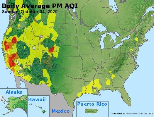 Peak Particles PM2.5 (24-hour) - https://files.airnowtech.org/airnow/2020/20201004/peak_pm25_usa.jpg