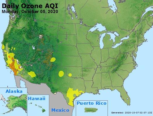 Peak Ozone (8-hour) - https://files.airnowtech.org/airnow/2020/20201005/peak_o3_usa.jpg