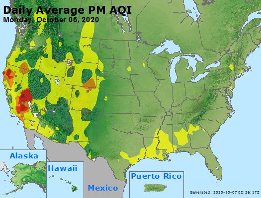 Peak Particles PM2.5 (24-hour) - https://files.airnowtech.org/airnow/2020/20201005/peak_pm25_usa.jpg