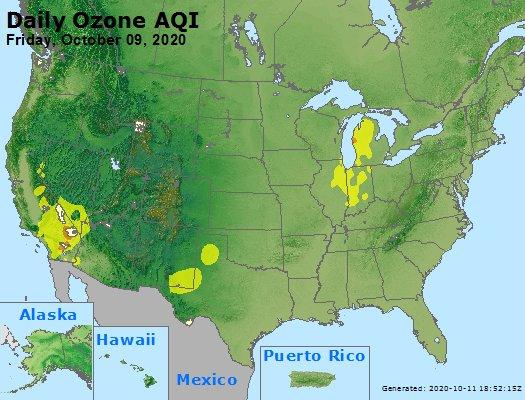 Peak Ozone (8-hour) - https://files.airnowtech.org/airnow/2020/20201009/peak_o3_usa.jpg