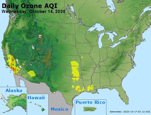 Peak Ozone (8-hour) - https://files.airnowtech.org/airnow/2020/20201014/peak_o3_usa.jpg