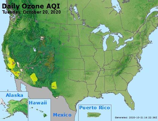 Peak Ozone (8-hour) - https://files.airnowtech.org/airnow/2020/20201020/peak_o3_usa.jpg