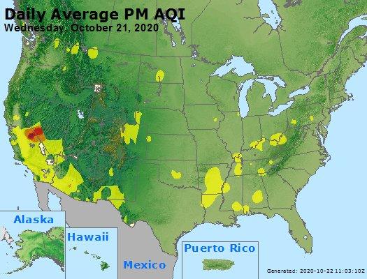 Peak Particles PM2.5 (24-hour) - https://files.airnowtech.org/airnow/2020/20201021/peak_pm25_usa.jpg