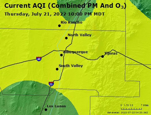 Airnow Albuquerque Nm Air Quality