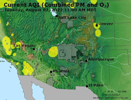 Airnow Ogden Ut Air Quality