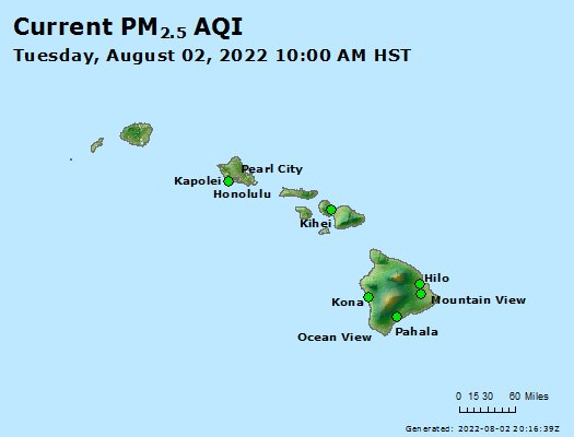 Hawaii Air Quality