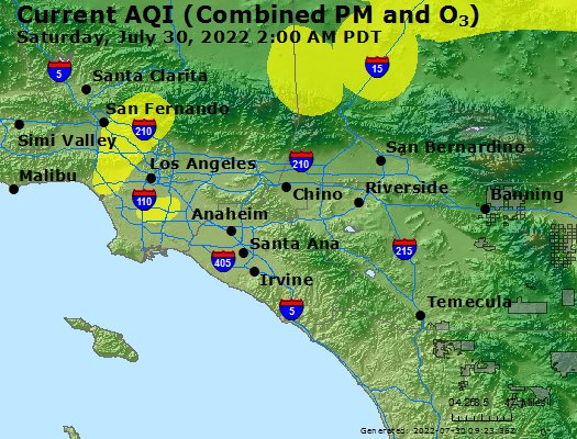 Perris Zip Code Map.Airnow Perris Vly Ca Air Quality