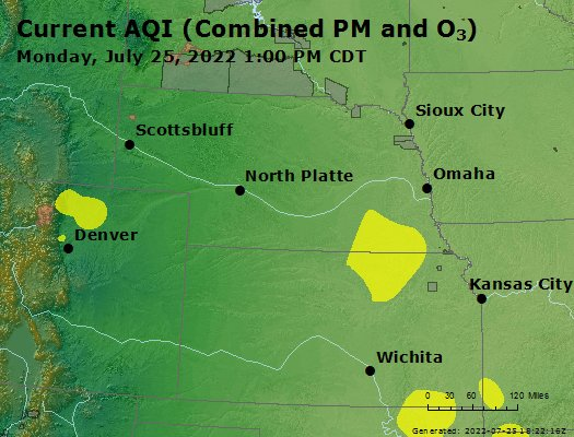 Current AQI Map