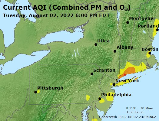 AirNow - New York Air Quality