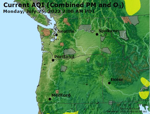 Marysville Wa Zip Code Map.Airnow Everett Marysville Lynnwood Wa Air Quality